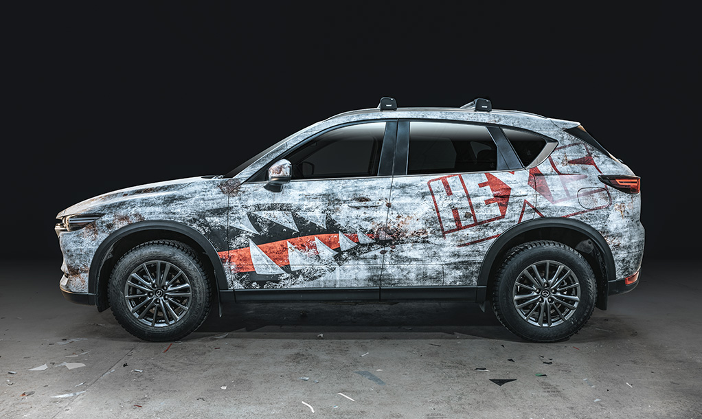 Mazda CX5 – Hexis Edition