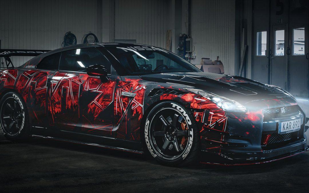 Nissan GTR – Godzilla Edition